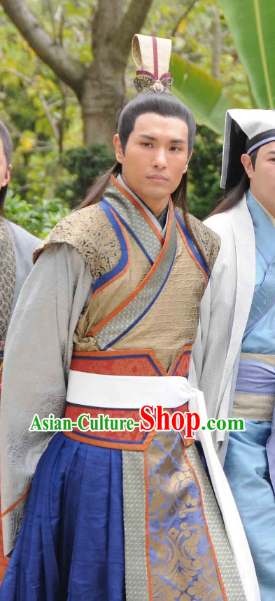 China Classical Prince Suit and Hat for Men