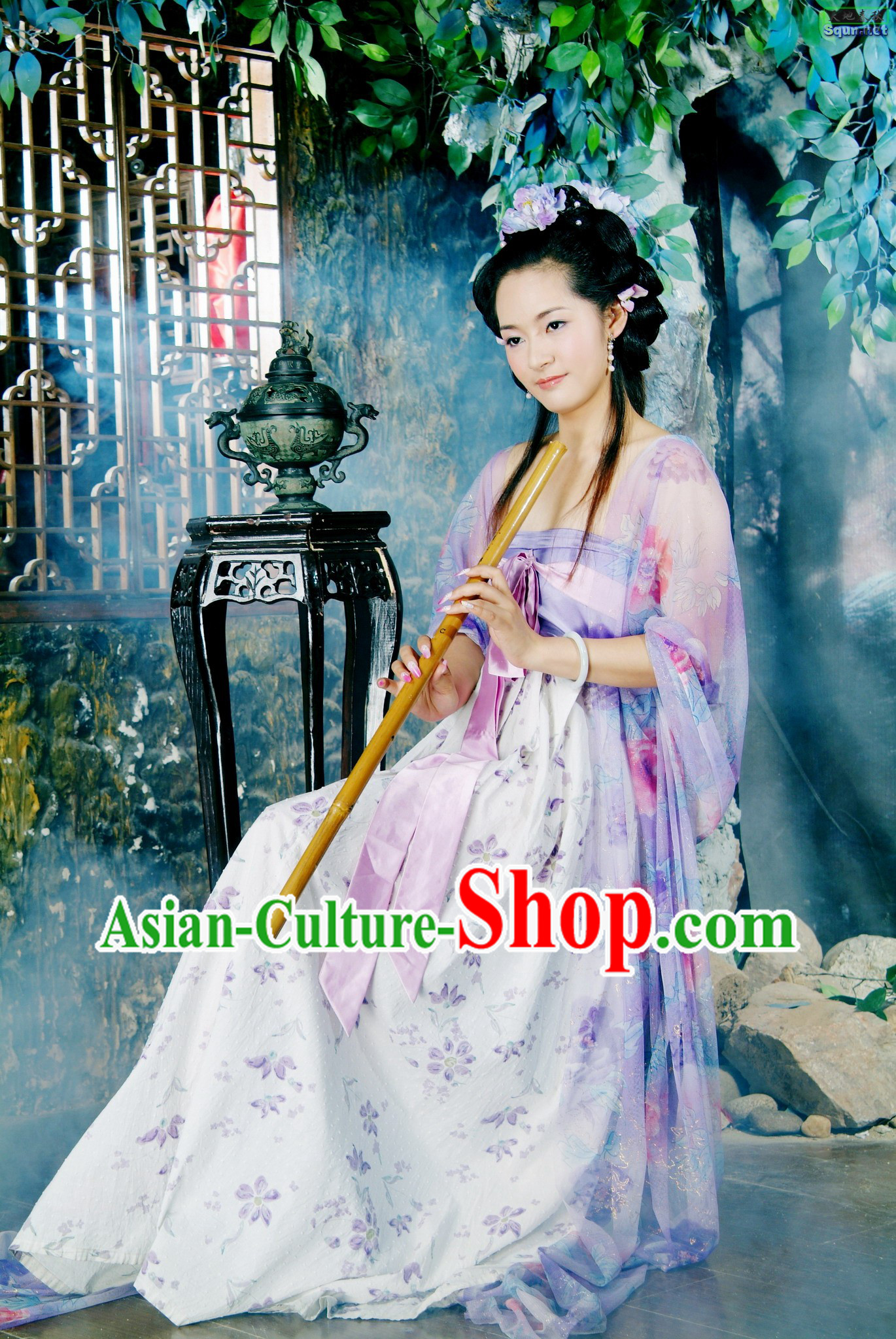 Chinese Tang Dynasty Skirt for Women