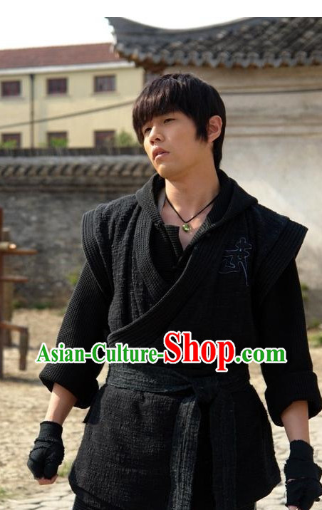 China Classical Black NiNJA Suit for Men