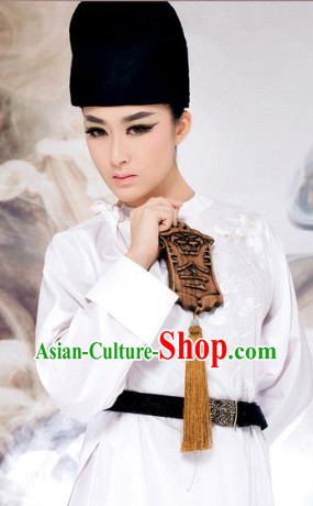 Chinese Ancient Detective Costumes and Hat