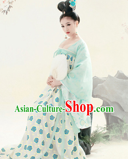 Chinese Palace Maid Costume for Girls