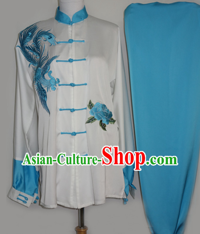 Chinese Top Martial Arts Shop Costumes Complete Set