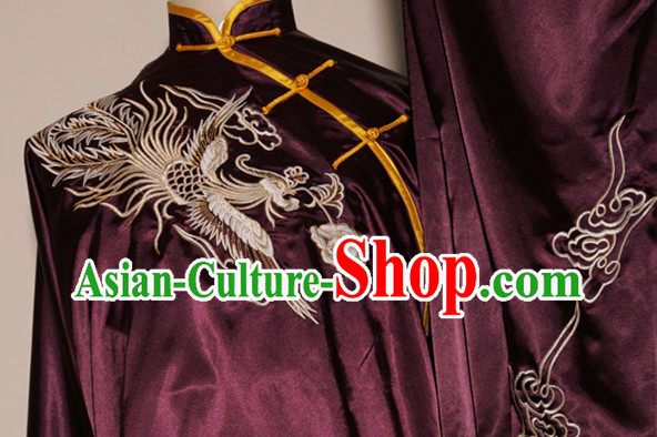 Top Dragon Embroidery Martial Arts Uniform Complete Set
