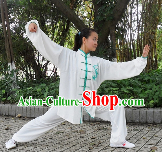 Phoenix Embroidery Wing Chun Kung Fu Uniform for Women