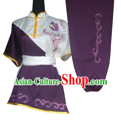 Professional Short Sleeves Martial Arts Kung Fu Uniform for Women