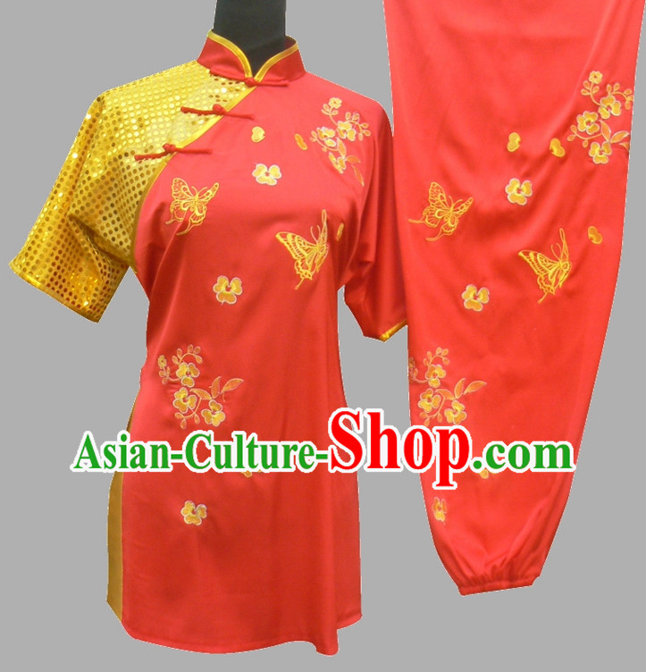 Top Kung Fu Competition and Performance Costumes for Men or Women