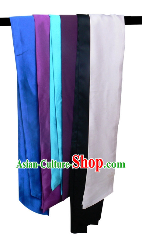 Top Kung Fu Belts of Six Colors