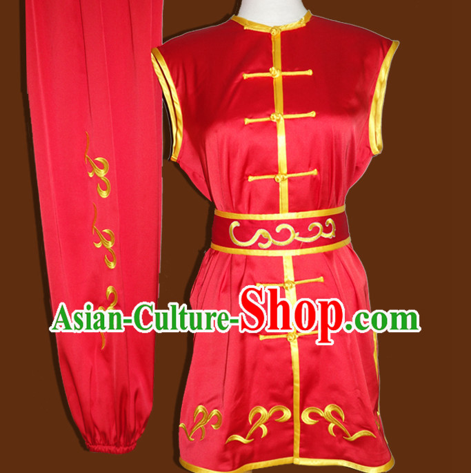 Chinese Classical Sleeveless Southern Fist Uniforms