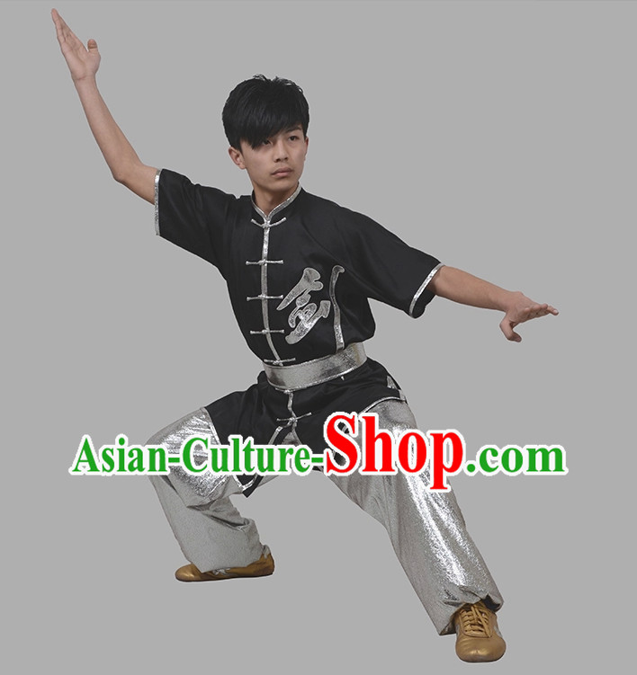 Top Nanquan Kung Fu Marshal Arts Wushu Uniforms Complete Set