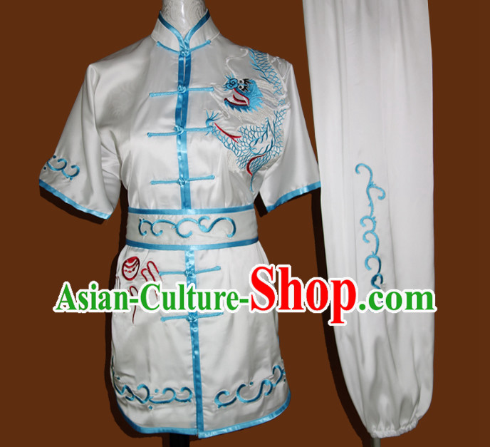 Top Nanquan Kung Fu Marshal Arts Wu Shu Uniform Complete Set