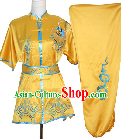 China Classical Wing Chun Kung Fu Wooden Dummy Practice Uniforms