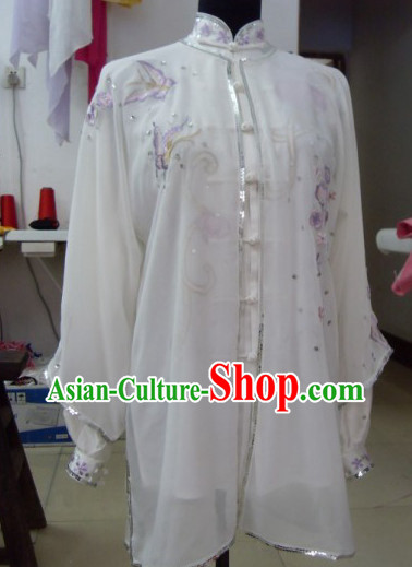 Tradtiional Martial Arts Embroidered Championshiop Winner Suits and Cloak