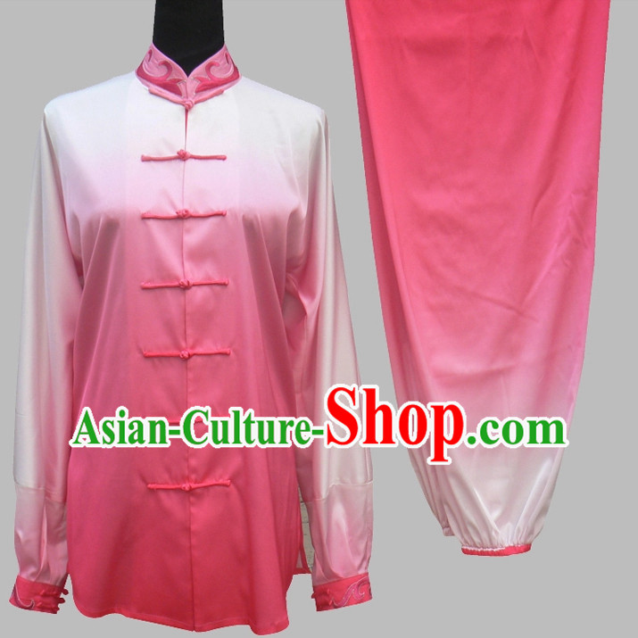 Color Change Transition Asian Tai Chi Chuan Tai Chi Pants Tai Chi Suits