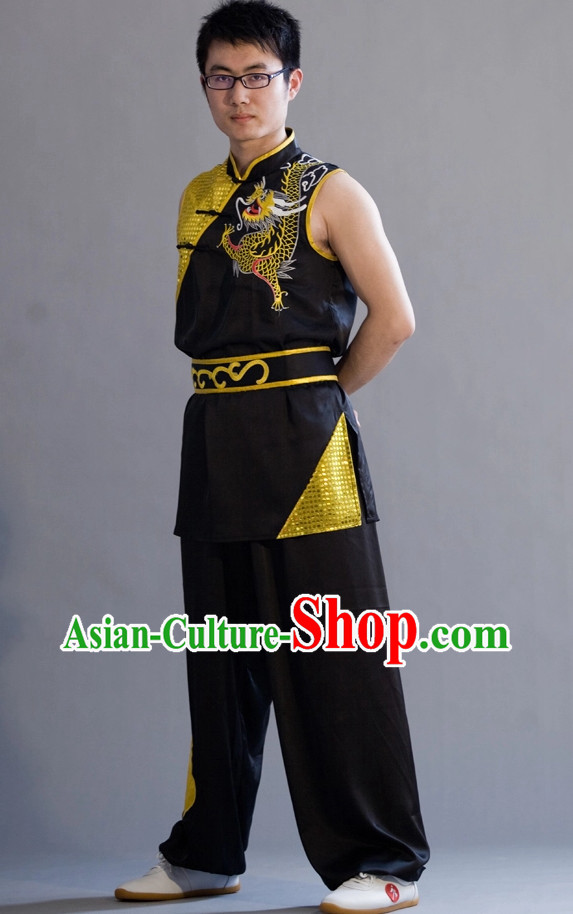 Top Phoenix Embroidered Nanquan Competition Championship Suit