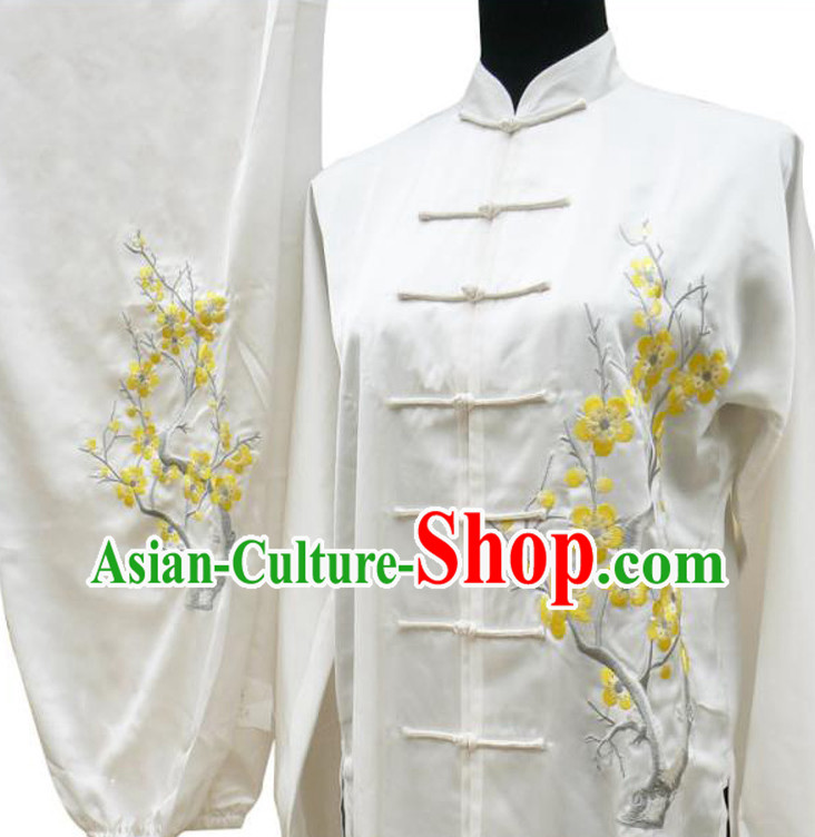 Supreme Embroidered Tai Chi Clothes for Men or Women