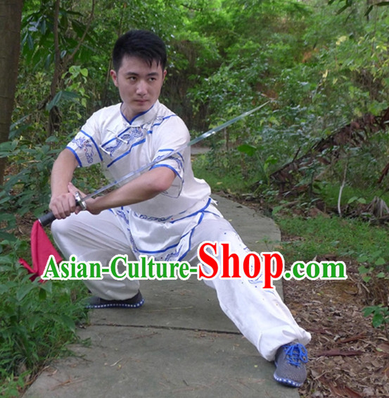 Supreme Embroidered Martial Arts Suits for Men or Women