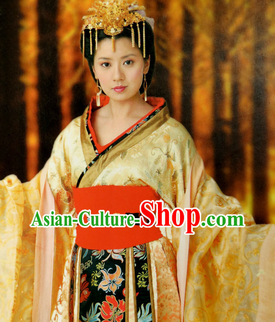 Chinese Empress Costumes Carnival Costumes Dance Costumes Traditional Costumes