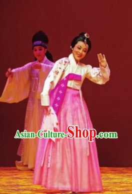 Korean Princess Hanbok Dancing Costumes Carnival Costumes Traditional Costumes for Women