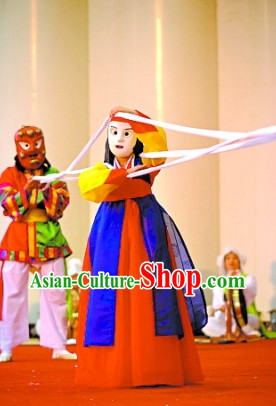 Korean Carnival Dance Costumes