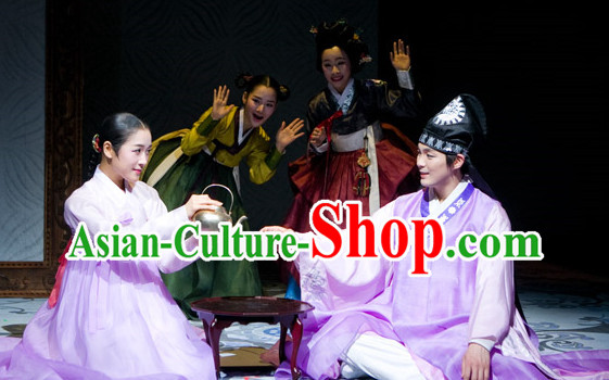 Korean Ancient Couple Hanbok Costumes Clothes Korean Clothing online