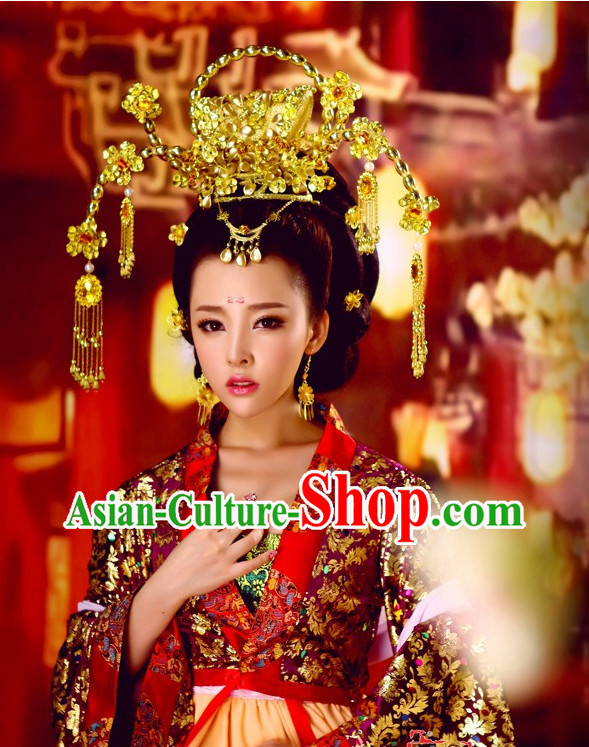 China Empress Dresses Carnival Costumes Dance Costumes Traditional Costumes for Women