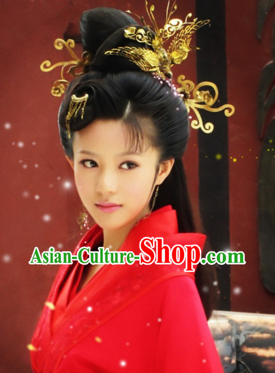 China Red Wedding Dress Carnival Costumes Dance Costumes Traditional Costumes for Women