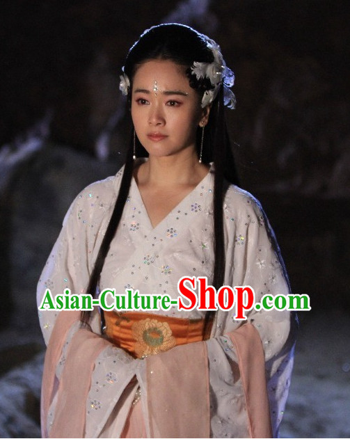 Chinese Hanfu Costumes Carnival Costumes Dance Costumes Traditional Costumes for Women