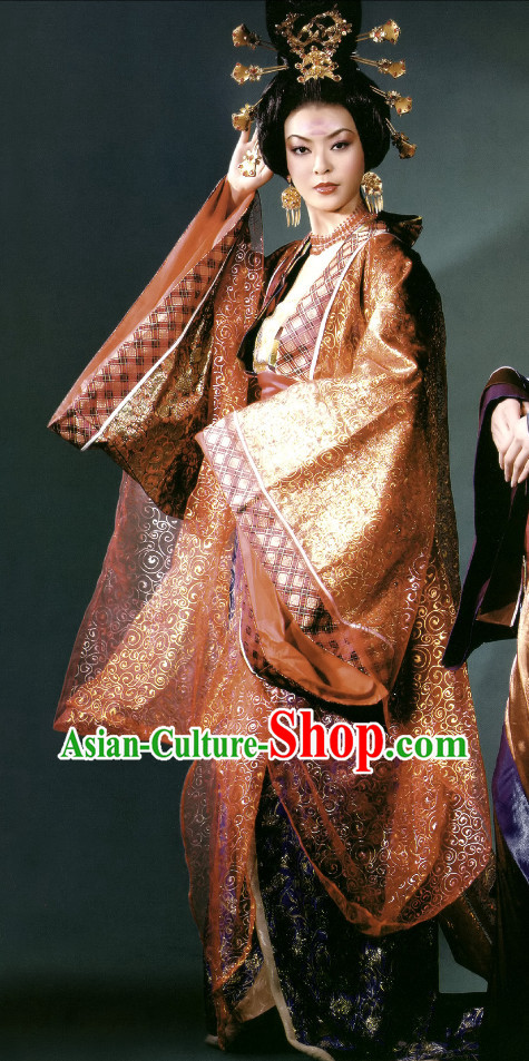 Chinese Empress Carnival Costumes Dance Costumes Traditional Costumes