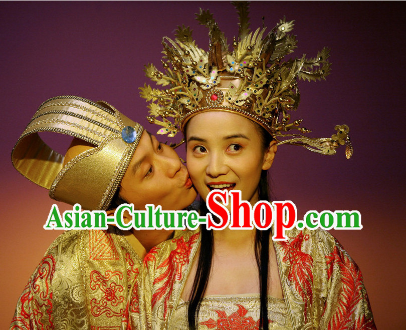 Chinese Wedding Phoenix Hat