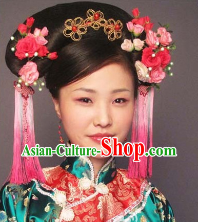 Chinese Qing Empress Headwear