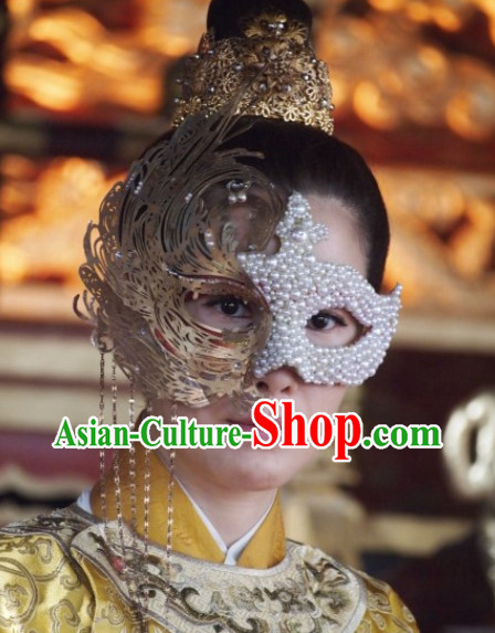 Asian Opera Stage Performance Mysterious Princess Mask