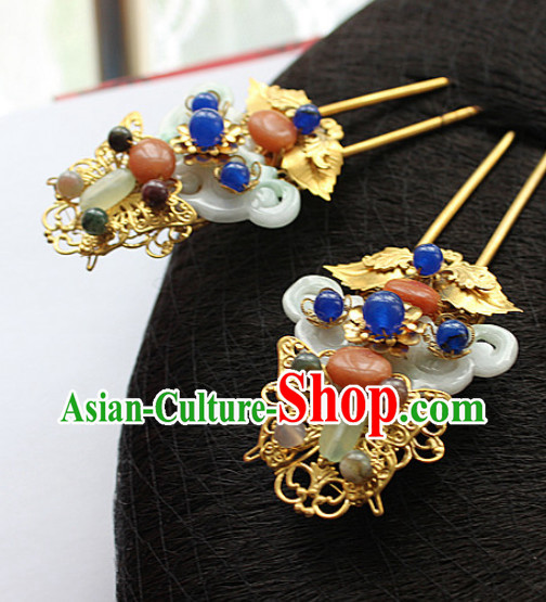 Top Chinese Hair Accessories Headpieces Hair Combs Jewellery Complete Set