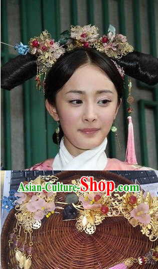Top Imperial Princess Handmade Hair Accessories Headpieces Hair Combs Jewellery Complete Set