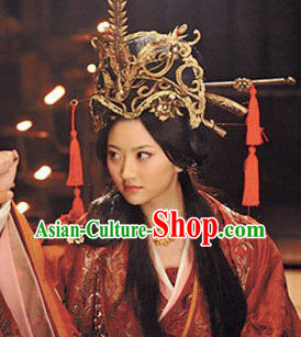Supreme Chinese Princess Hair Fascinators Jewellery Accessories Wedding Headpieces