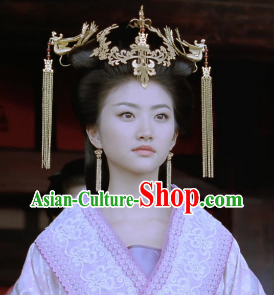 Supreme Chinese Princess Phoenix Hair Fascinators Jewellery Accessories Wedding Headpieces