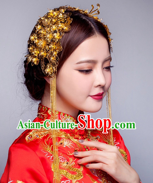 Top Chinese Bridal Hair Fascinators Jewellery Accessories