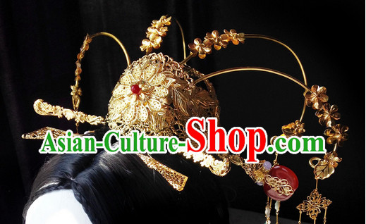 Chinese Ancient Empress Hair Accessories Set.