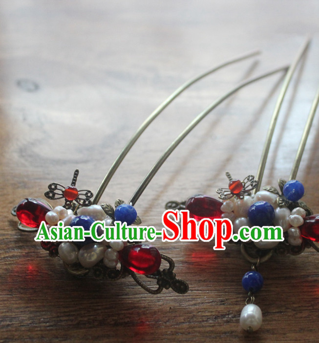 Chinese Traditional Hair Accessories Combs Fascinators Headband Bridal Headpiece