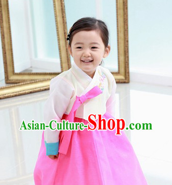 Korean Traditional Dresses for Kids