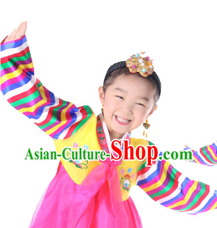 Korean Kids Dance Costumes for Girls