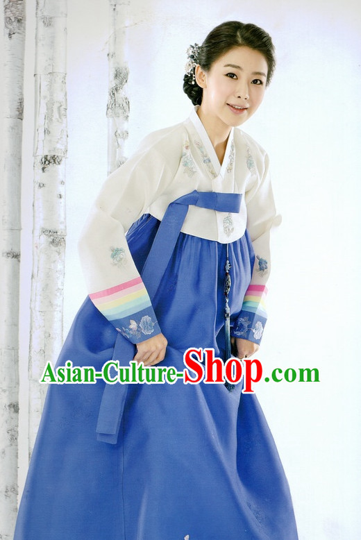Korean Traditional Clothes Ceremonial Hanbok for Women