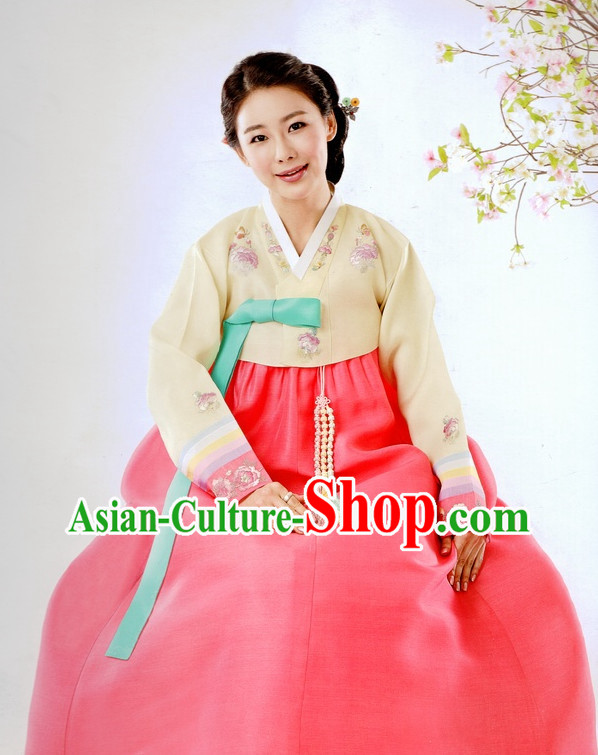Korean Traditional Dress Ceremonial Costumes for Women