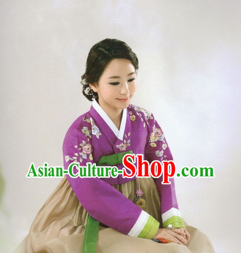 Korean Traditional Ceremonial Hanbok for Ladies