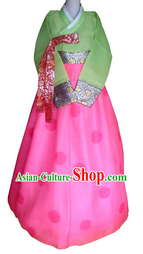 Traditional Korean Clothing Custom Made Women Dangwi Hanbok for Birthday Party Halloween