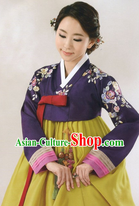 Korean Custom Made Hanbok Outfits for Women