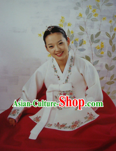 Korean Traditional Dangui Custom Made Hanbok Outfit for Women
