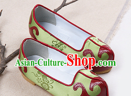 Traditional Korean Birthday Ceremonial Shoes for Boys