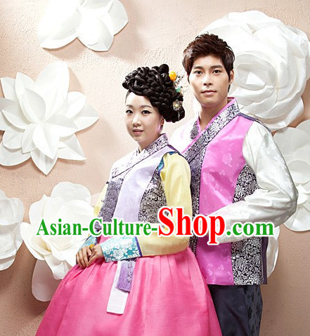 Top Korean Bridal Clothing Asian Fashion online Clothes Shopping National Costumes for Couple