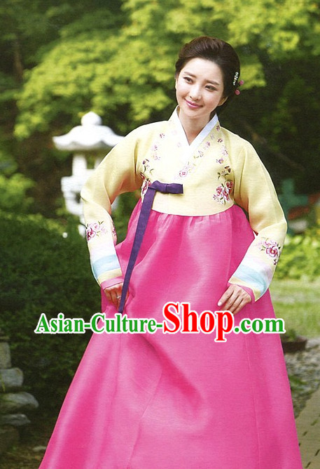 Top Korean Ceremonial Clothing Asian Fashion online Clothes Shopping National Costume for Ladies