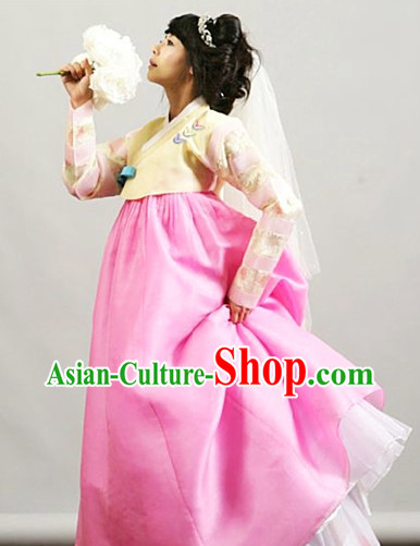 Top Korean Modern Hanbok Wedding Dress